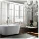 Bellaterra BA6815B Calabria 59 inch Freestanding Bathtub in Glossy White