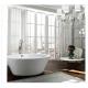 Bellaterra BA6827 Udine 67 inch Freestanding Bathtub in Glossy White