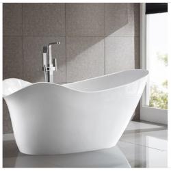 Bellaterra BA7527 Colmar 69 inch Freestanding Bathtub in White