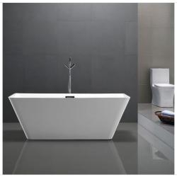 Bellaterra BA68 67 inch Freestanding Bathtub in Glossy White