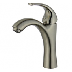 Bellaterra 10165B1 Seville Single Handle Bathroom Vanity Faucet