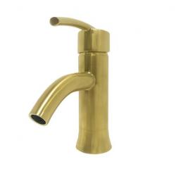 Bellaterra 10198N1-GD-WO Refina Single Handle Bathroom Vanity Faucet in Gold