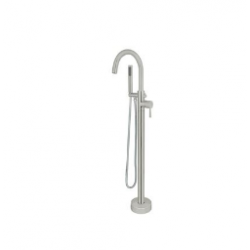 Bellaterra 210419 Single-Handle Floor-Mount Freestanding Tub Faucet with Hand Shower
