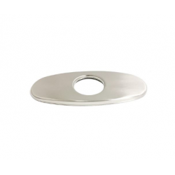 Bellaterra 11030 6 in. Stainless Steel Faucet Deck Plate