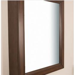 Bellaterra 7611-MC-SW 24 in Mirror Cabinet-Wood-Sable Walnut, Finish- Sable Walnut, Mount Type- Surface Mount-Vertical