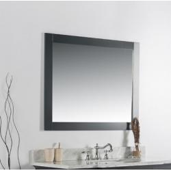 "Bellaterra 7700-40-M 40"" Solid Wood Frame Mirror"
