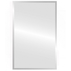 Bellaterra 801102-MC Stainless Steel Corner Mirror Cabinet, Mount Type- Surface