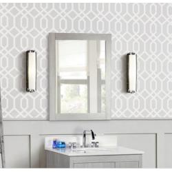 Bellaterra 808 Rectangle Wood Frame Mirror