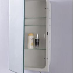 Bellaterra 808282-MC Mirrored Medicine Cabinet, Mount Type- Recessed Mount