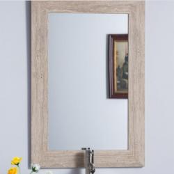 Bellaterra 808700-M Travertine Stone Frame Mirror