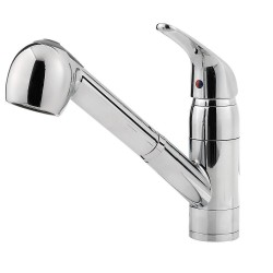 Pfister G133-1 Pfirst Series 1-Handle, Pull-Out Kitchen Faucet
