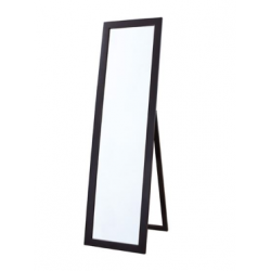 Bellaterra 808807-M Floor Mirror, Finish-Espresso, Mount Type- Floor style