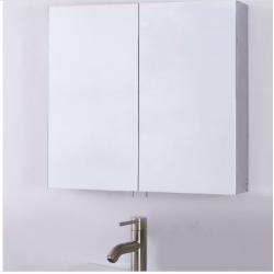Bellaterra 808998-MC Double Door Mirrored Medicine Cabinet, Mount Type- Surface Mount