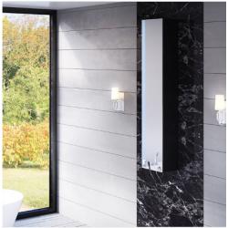Bellaterra 804301 Mirrored Wall Mount Linen Cabinet
