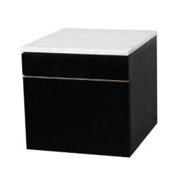 Bellaterra 804375A Side Cabinet Finish- Black Oak