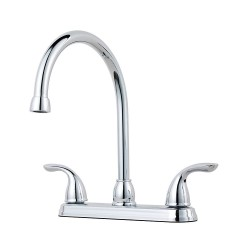 Pfister G136-2 Pfirst Series 2-Handle Kitchen Faucet