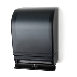 Palmer Fixture TD0216 Auto-Transfer Push Bar Roll Towel Dispenser W/Plastic Back