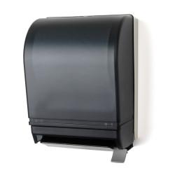 Palmer Fixture TD0210-01 Lever Roll Towel Dispenser Dark Translucent