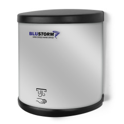 Palmer Fixture HD09 BluStrom High Speed Hand Dryers Brushed Stainless