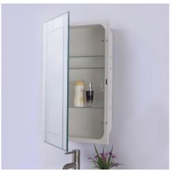 Bellaterra 808283-MC Mirrored Medicine Cabinet