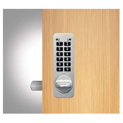 "Codelocks NANO90 Cabinet Lock-Suitable For up to 3/4"" Thick Door"