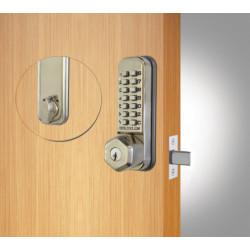 Codelocks 95339 CL210 Tubular Deadbolt,Key Override Gate Box Kit