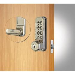 Codelocks 93901 CL255 Tubular Deadbolt,Key Override Gate Box Kit