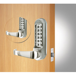Codelocks 95615 CL515 Tubular Latchbolt ,Codefree,Passage Function, Code In/Out,Back to Back Gate Box Kit