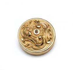 Period Hardware DBL15.0100 Louis XV - Door Bell