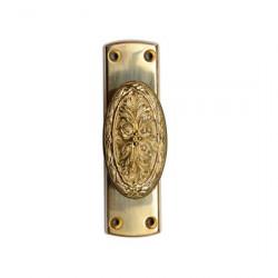 Gruppo Romi 1200-7011 | 1200 Case, Door Knob DKL16.7011 - Combined Cremone Bolt