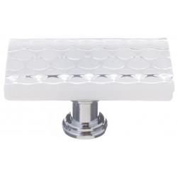 Sietto LK-900 Honeycomb White Long Knob