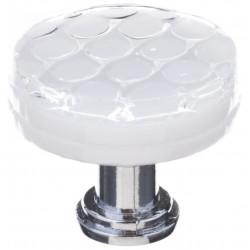 Sietto R-900 Honeycomb White Round Knob