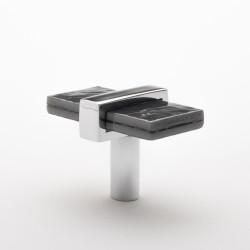 Sietto K-1902 Adjustable Slate Gray Knob