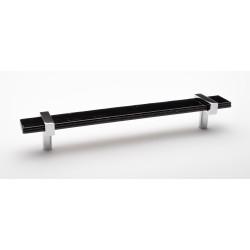"""Sietto P-1903-9 9"""" Adjustable black pull"""