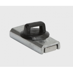 """Mag Daddy 624 Cable-Tie Pipe-Mount w/ 1"""" X 7/16"""" Base Rectangular Magnet (Pkg Qty 100)"""