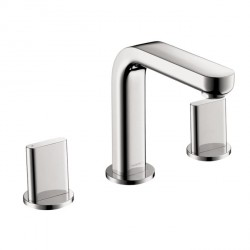 Hansgrohe 31063001 Metris S Widespread Faucet with Full Handles