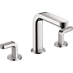 Hansgrohe 31067001 Metris S Widespread Faucet with Lever Handles