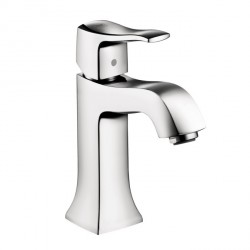 Hansgrohe 31077001 Metris C Single-Hole Faucet without Pop-Up