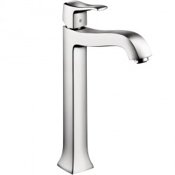 Hansgrohe 31078001 Metris C Single-Hole Faucet, Tall