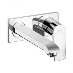 Hansgrohe 31086001 Metris Wall-Mounted Single-Handle Faucet Trim