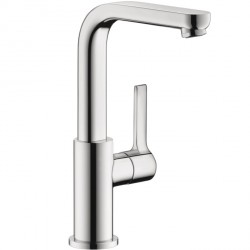 Hansgrohe 31161001 Metris S Single-Hole Faucet, Tall