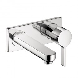 Hansgrohe 31163001 Metris S Wall-Mounted Single-Handle Faucet Trim