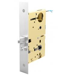 Accurate Lock & Hardware M9156E-SEC Electrified Lock, Detention Grade Motor Drive Lockset 2-Point Tri