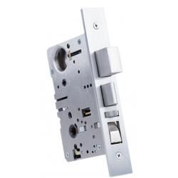"Accurate Lock & Hardware 91 Detention Grade Lockset/2-Point Trim, Backset - 2-3/4"", Door Thickness- 1-3/4"""