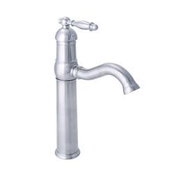 Dyconn VS1H08-BN Tule - Brushed Nickel Vessel/Bar/Bathroom Sink Single Handle Faucet