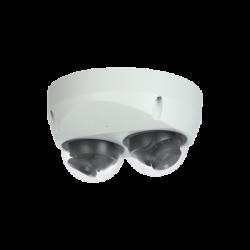 LTS LTDHIP39222W-28ISM 2x2MP Dual Lens IR Mini Dome Network Camera