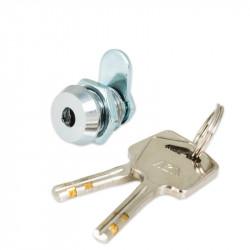 "FJM Security 8218 Miniature Cam Lock,Angled Key-7/16"" Cylinder"