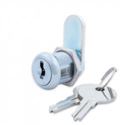 FJM Security 8X00 Disc Tumbler Cam Lock Chrome