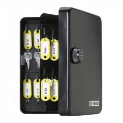 FJM Security SL-8548 KeyGuard Key Cabinet,48 hooks,Combination Lock