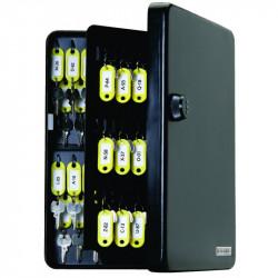 FJM Security SL-9122 KeyGuard Key Cabinet,122 hooks,Combination Lock